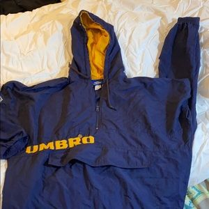 Vintage Umbro navy jacket